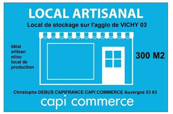 photo 1 - Location Local Commercial - Allier (03) 1 300 €