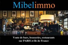 Vente - Restaurant rapide - Bar à thème - Cave à vins - Vins - Paris 12ème (75012)