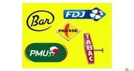 Vente - Bar - Tabac - Cadeaux souvenirs - FDJ - Librairie - Loterie - Loto - Papeterie - PMU - Presse - Alpes-Maritimes (06)