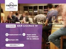 Vente - Bar - Brasserie - Tabac - Licence IV - Finistère (29)