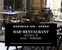 Vente - Bar - Brasserie - Restaurant - Tabac - Café - Marseille 1er (13001)