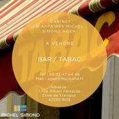Vente - Bar - Brasserie - Tabac - Loterie - Lot-et-Garonne (47)